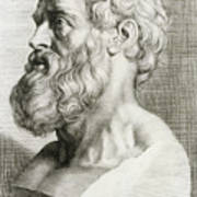 Hippocrates, Greek Physician Poster by Science Source