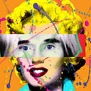 Homage To Warhol Poster by Gary Grayson