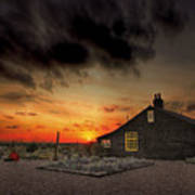 Home To Derek Jarman Poster by Lee-Anne Rafferty-Evans