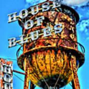 House Of Blues Orlando Poster by Corky Willis Atlanta Photography