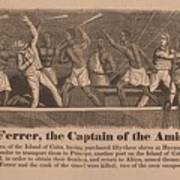 In 1839 Fifty-four African Captives Poster by Everett