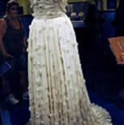 Inaugural Gown On Display Poster by LeeAnn McLaneGoetz McLaneGoetzStudioLLCcom