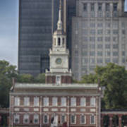 Independence Hall Poster by Tom Gari Gallery-Three-Photography