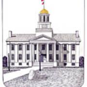 Iowa Poster by Frederic Kohli