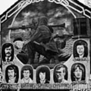 Ira Wall Mural Belfast Poster by Joe Fox
