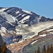 Jackson Glacier - Glacier National Park Mt Poster by Christine Till
