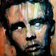 James Dean Poster by Paul Lovering