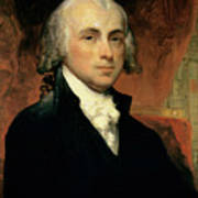 James Madison Poster by American School