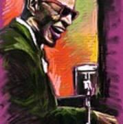 Jazz. Ray Charles.2. Poster by Yuriy  Shevchuk