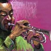 Jazz Trumpeter Poster by Yuriy  Shevchuk