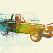 Jeep Wagoneer Poster by Naxart Studio