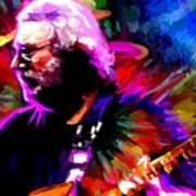 Jerry Garcia Grateful Dead Signed Prints Available At Laartwork.com Coupon Code Kodak Poster by Leon Jimenez
