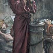 Jesus In Prison Poster by Tissot