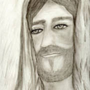 Jesus Poster by Sonya Chalmers