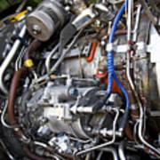 Jet Engine Poster by Ricky Barnard