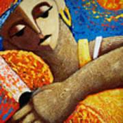 Jibara Y Sol Poster by Oscar Ortiz