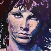Jim Morrison The Lizard King Poster by David Lloyd Glover