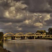 John Mack Bridge Poster by Fred Lassmann