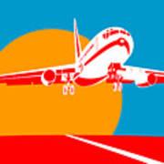 Jumbo Jet  Poster by Aloysius Patrimonio