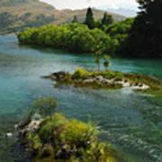 Kawerau River Poster by Kevin Smith