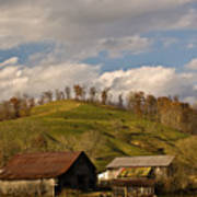 Kentucky Mountain Farmland Poster by Douglas Barnett