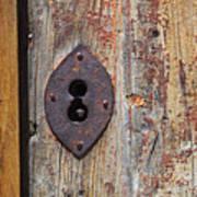 Key Hole Poster by Carlos Caetano
