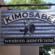 Kimosabe Poster by Mary Rogers