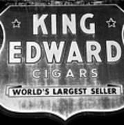 King Edward Cigars Poster by David Lee Thompson