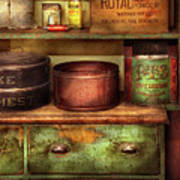 Kitchen - Food - The Cake Chest Poster by Mike Savad