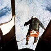 Kittinger Poster by SPL and Photo Researchers