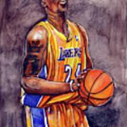 Kobe Bryant Poster by Dave Olsen