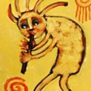 Kokopelli Watches Poster by Carol Suzanne Niebuhr