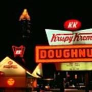 Krispy Kreme Doughnuts Atlanta Poster by Corky Willis Atlanta Photography