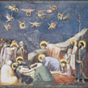 Lamentation Poster by Giotto Di Bondone