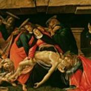 Lamentation Of Christ Poster by Sandro Botticelli