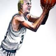 Larry Bird Poster by Dave Olsen