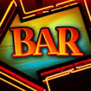 Laurettes Bar Poster by Barbara Teller