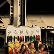 Leapfrog Poster by Colleen Kammerer