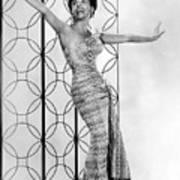 Lena Horne. Ca. 1950s. Courtesy Csu Poster by Everett