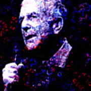 Leonard Cohen Poster by Tammera Malicki-Wong