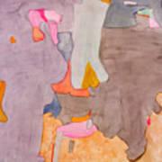 Les Demoiselles Of Santa Cruz V6 Poster by Susan Cafarelli Burke