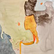 Les Demoiselles Of Santa Cruz V7 Poster by Susan Cafarelli Burke