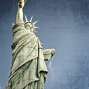 Liberty Enlightening The World Poster by Charles Dobbs