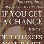 Life Is.... Poster by Debbie DeWitt