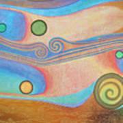 Liquid Crystals Poster by Jennifer Baird