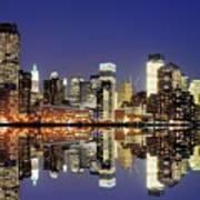 Lower Manhattan Skyline Poster by Sean Pavone