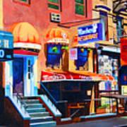 Macdougal Street Poster by John Tartaglione