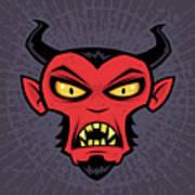 Mad Devil Poster by John Schwegel