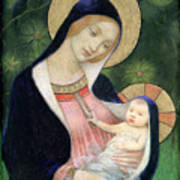 Madonna Of The Fir Tree Poster by Marianne Stokes