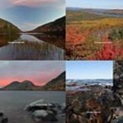 Maine Acadia National Park Landscape Photography Poster by Juergen Roth